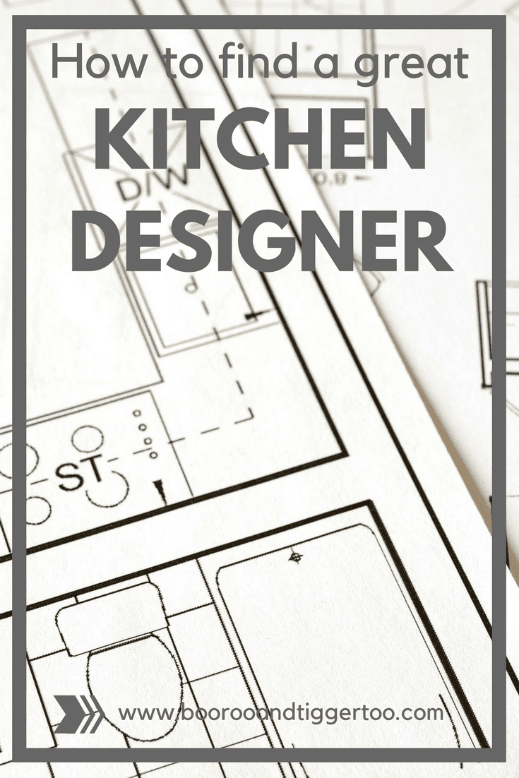 How to find a great kitchen designer
