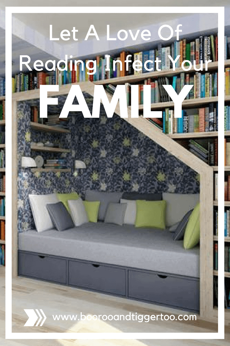 Let A Love Of Reading Infect Your Family