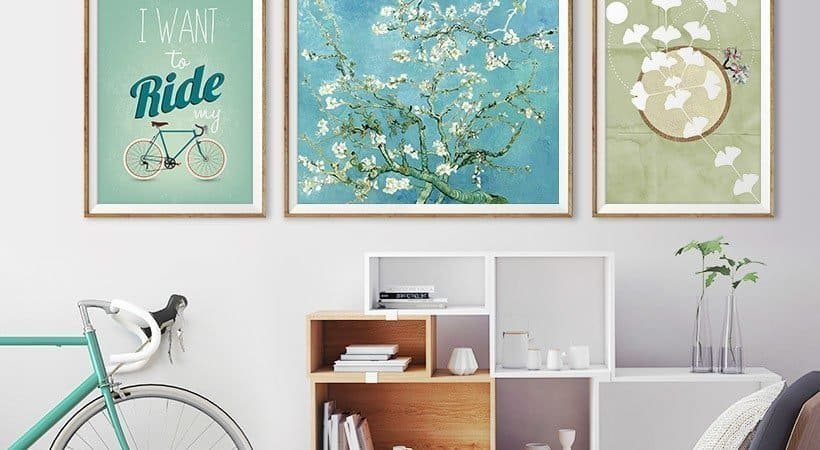 Brightening up your home using Posterlounge