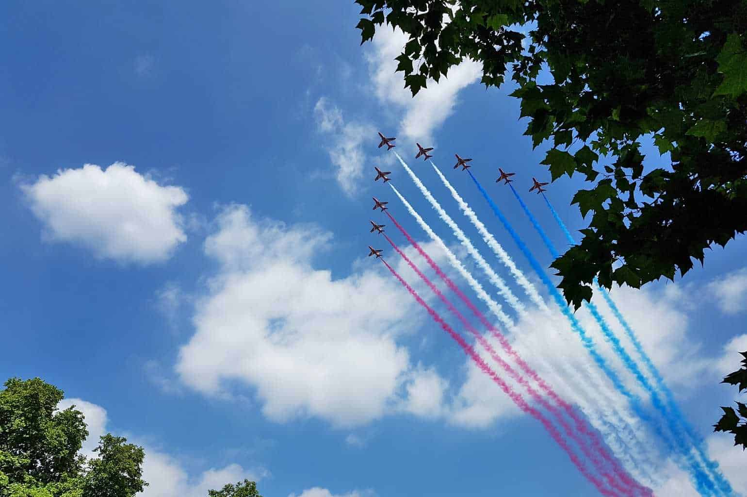 A Postcard From… The Red Arrows