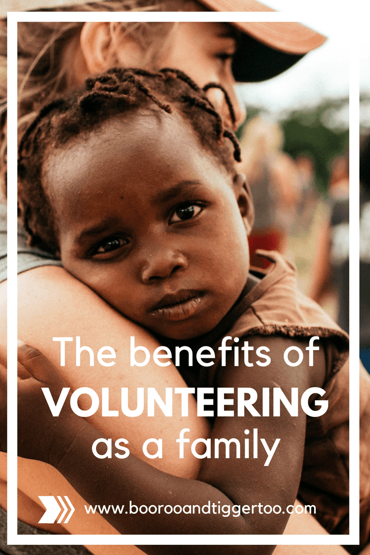 The Benefits Of Volunteering As A Family
