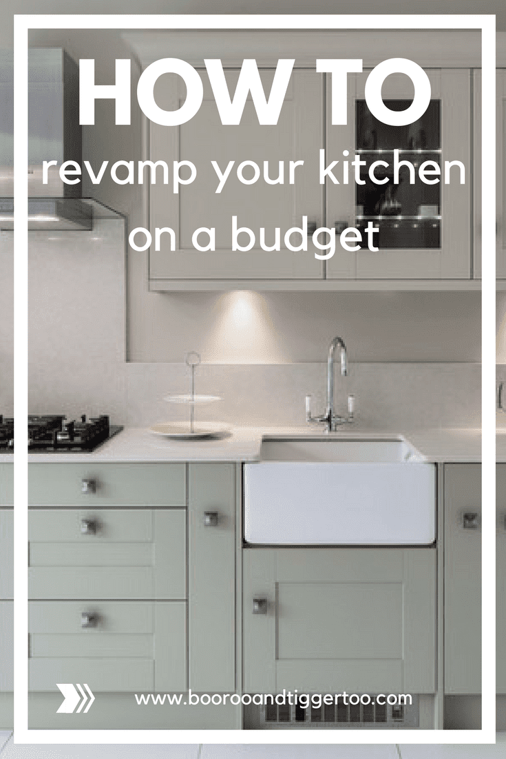 How to revamp your kitchen on a budget
