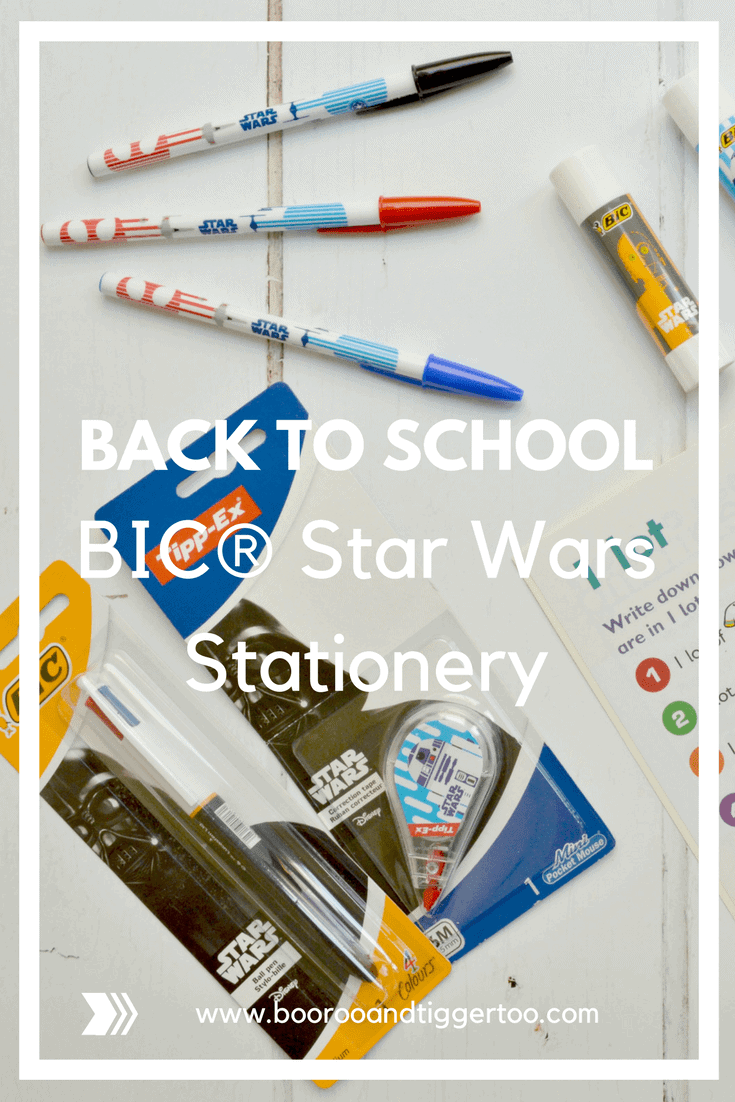 BIC® Star Wars Stationery