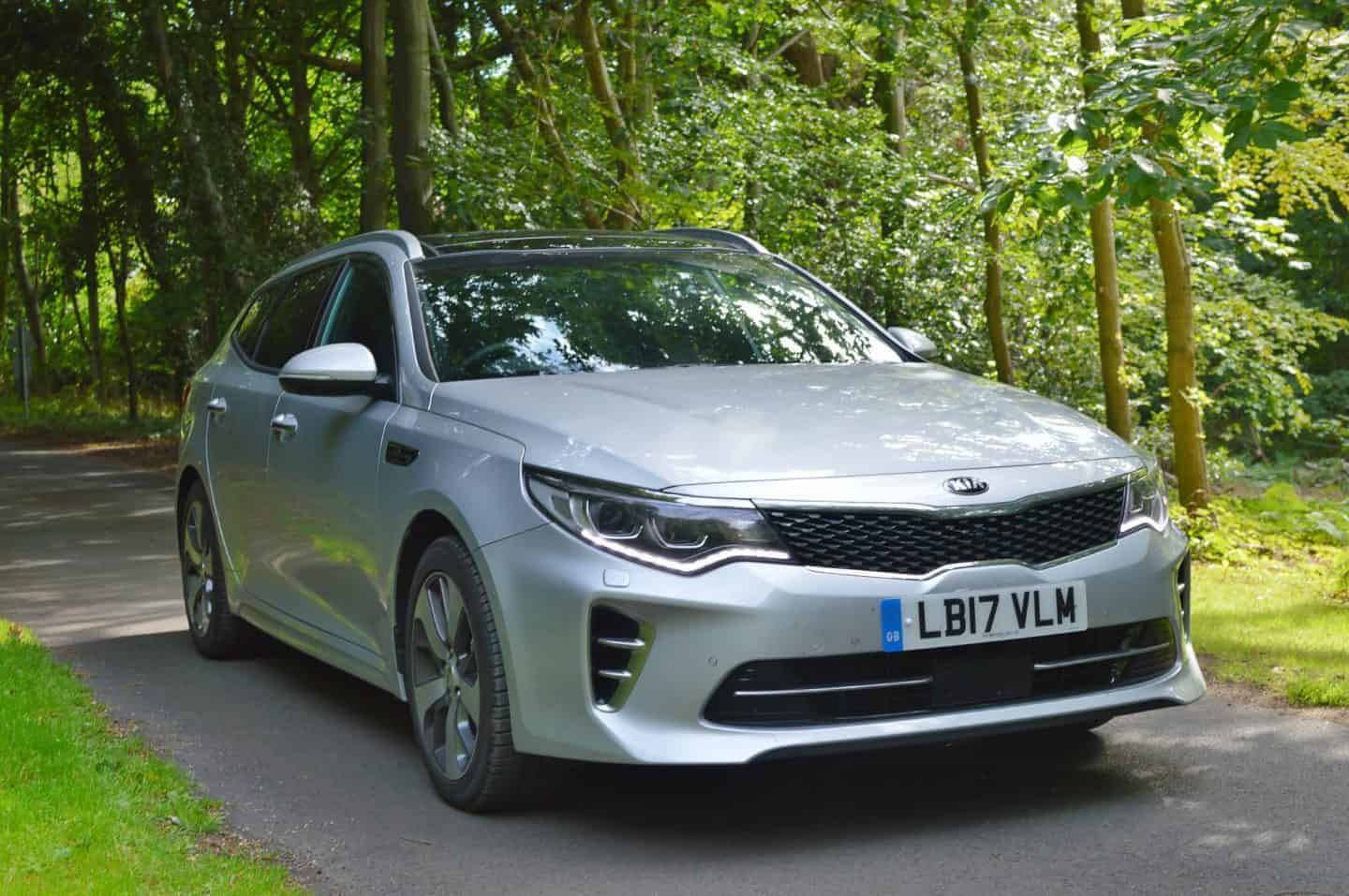 Kia Optima Sportswagon 'GT-Line S' model