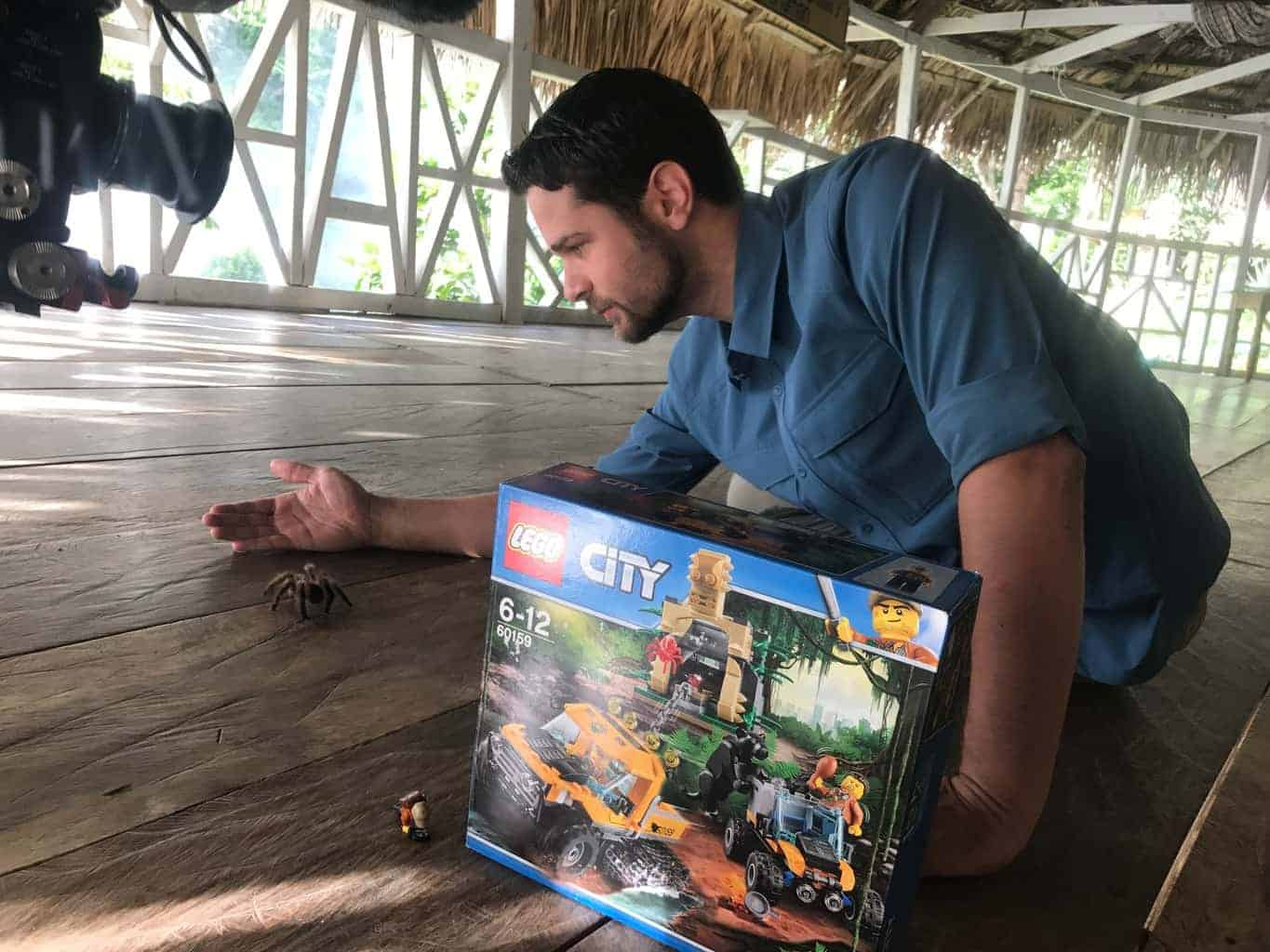 National Geographic Kids and LEGO City Jungle inspire children to explore
