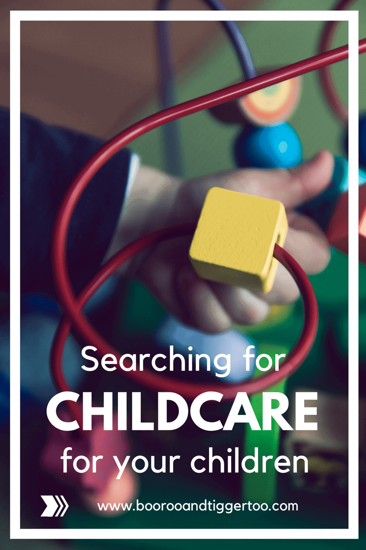Searching for childcare for your children