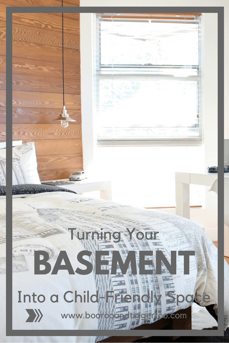 Turning Your Basement Into a Child-Friendly Space