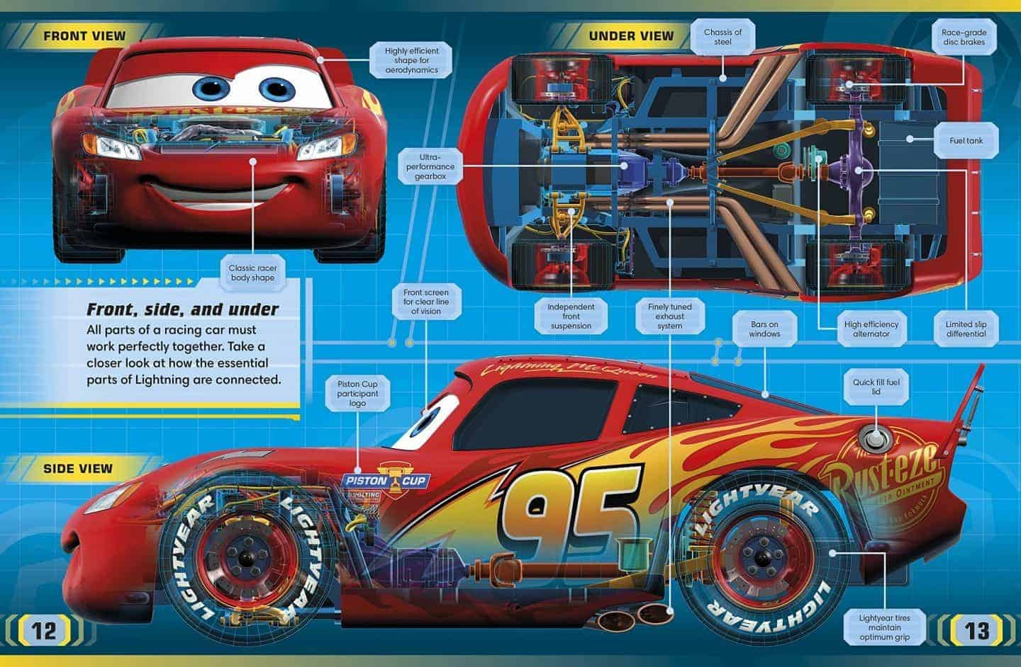 Disney Pixar Cars 3 The Essential Guide From Dk Books