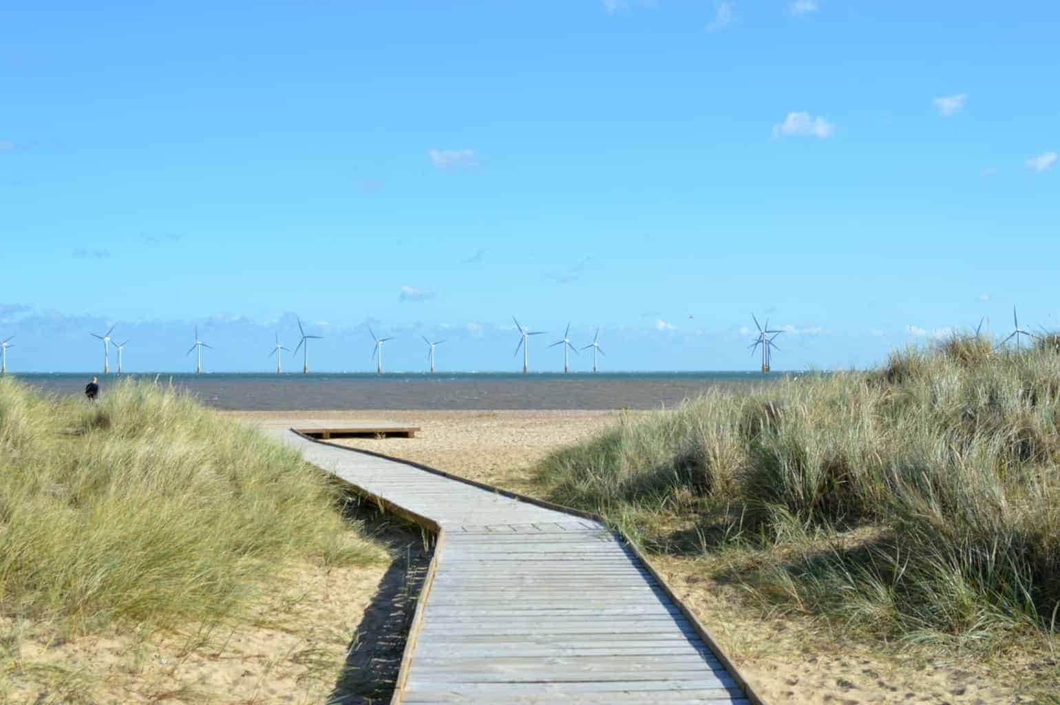 A Postcard From… Scroby Sands