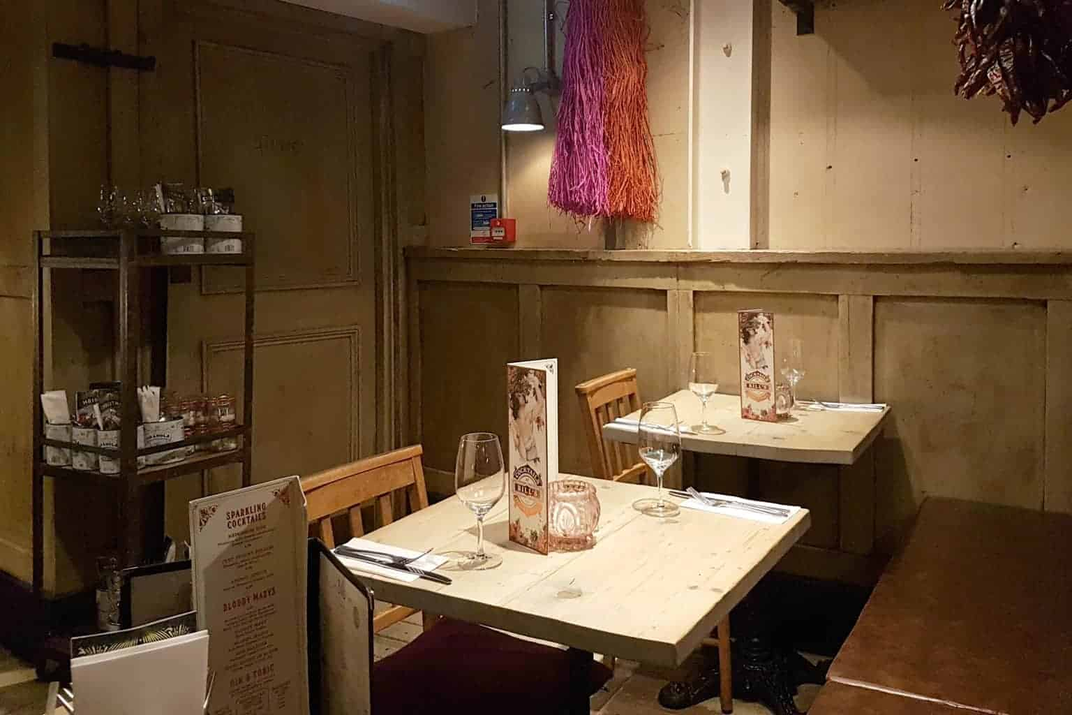 Bill's Restaurant, Norwich // Children's Menu