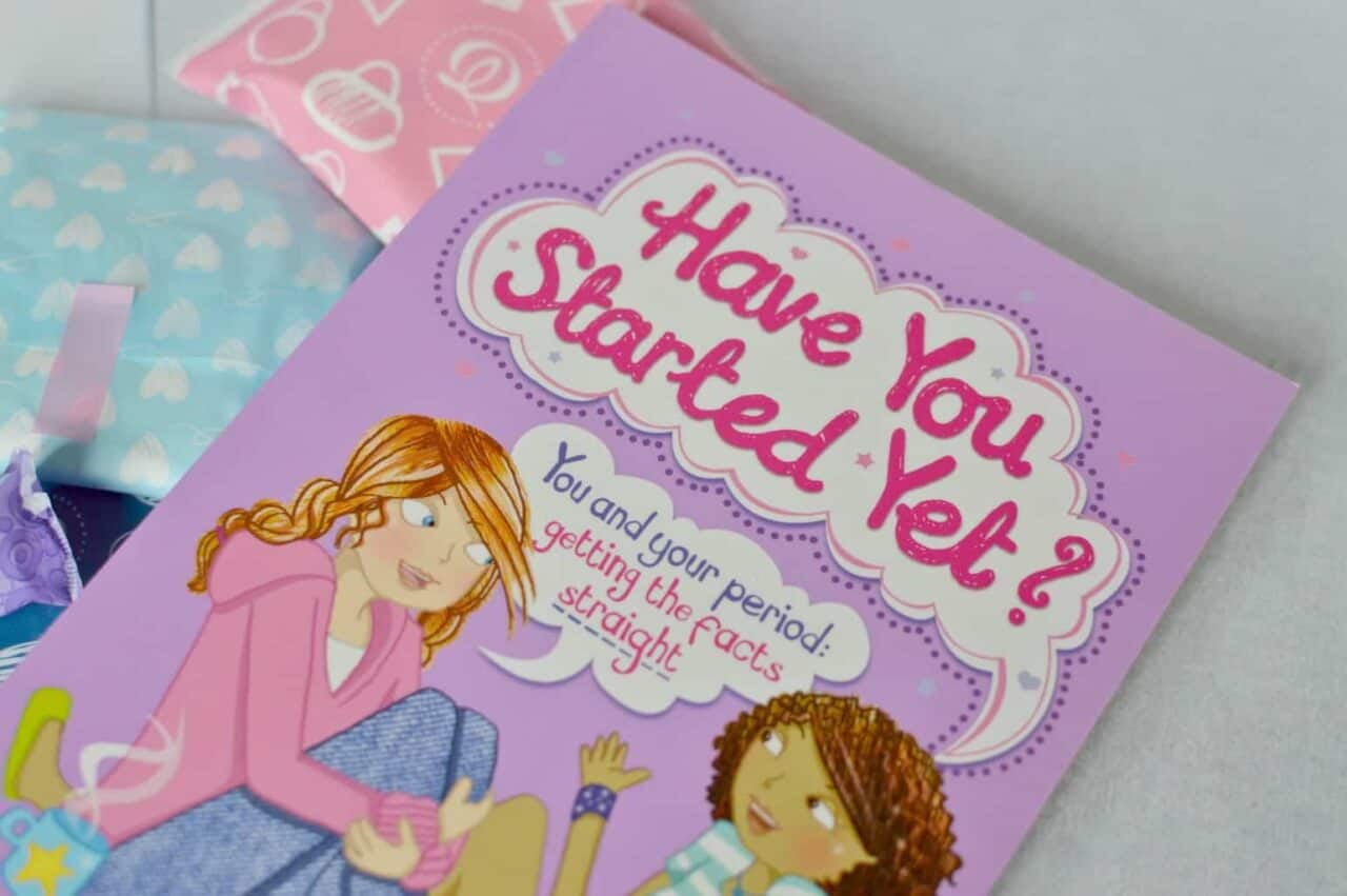 Have you started yet? book - You and your period: getting the facts straight