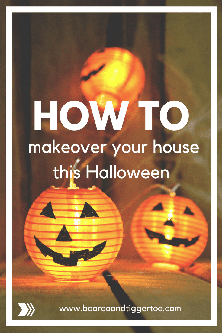 How to makeover your house this Halloween