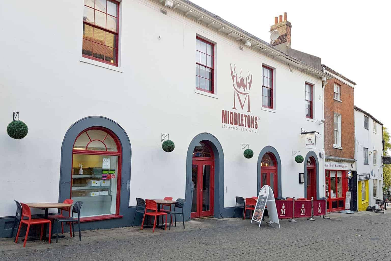 Middletons Steakhouse & Grill, Norwich