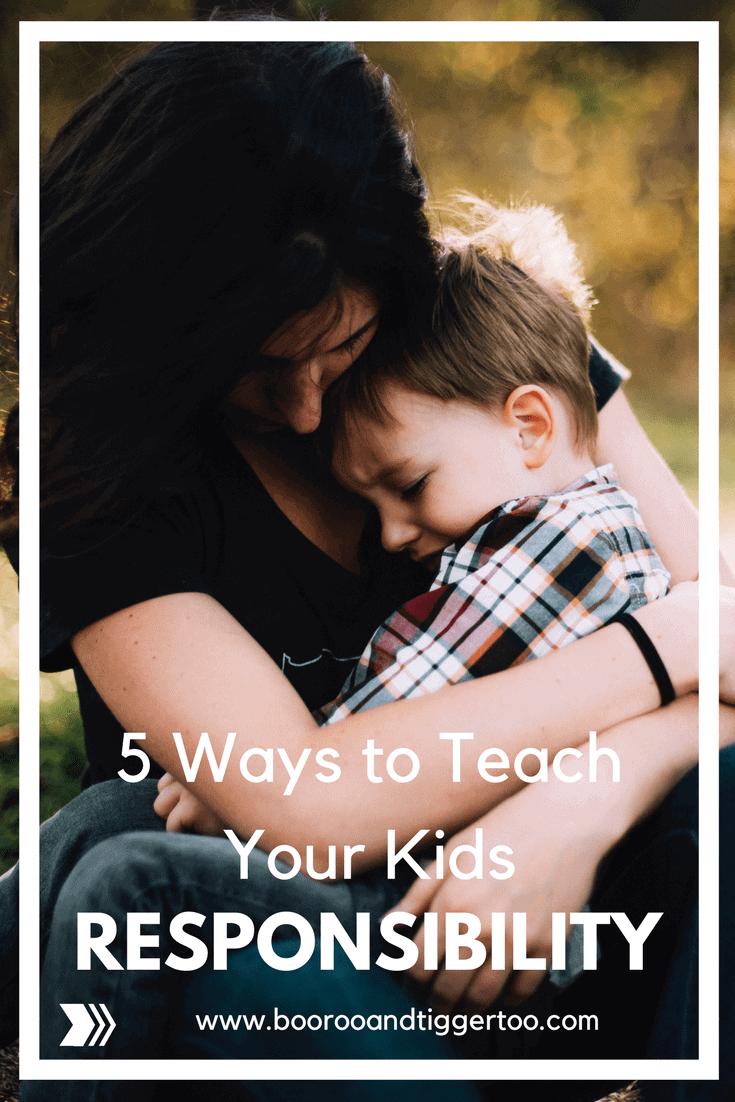 5 Ways to Teach Children Responsibility