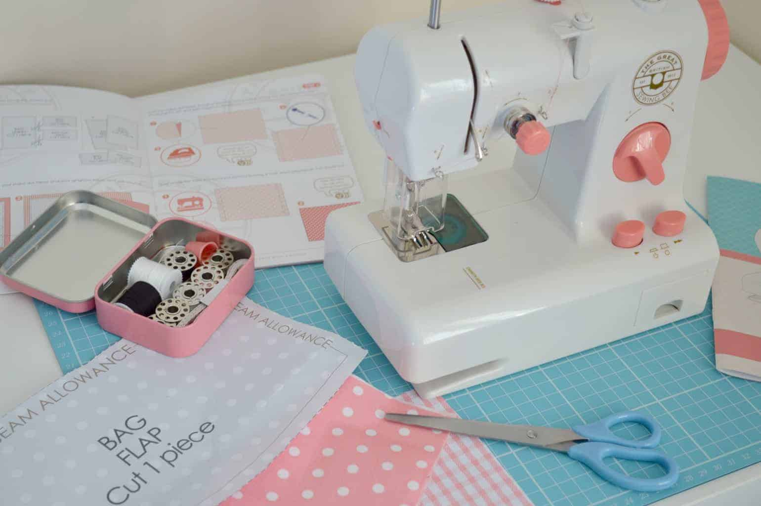 Great British Sewing Bee Sewing Studio Boo Roo And