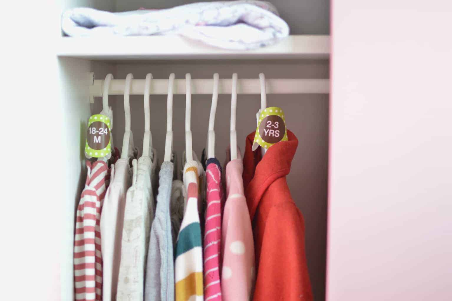 Grohanger // Kids Clothes Storage Made Easy