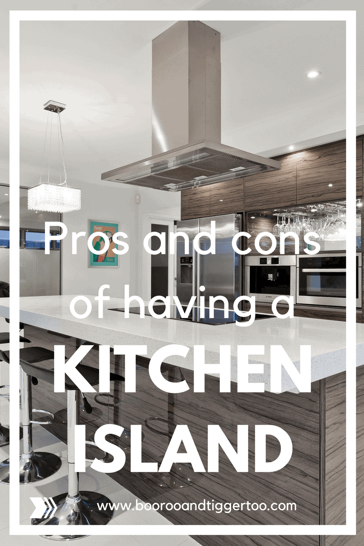 Pros and cons of having a kitchen island