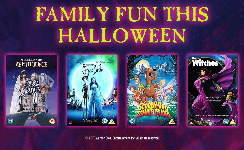 4 Family Films to enjoy this Halloween