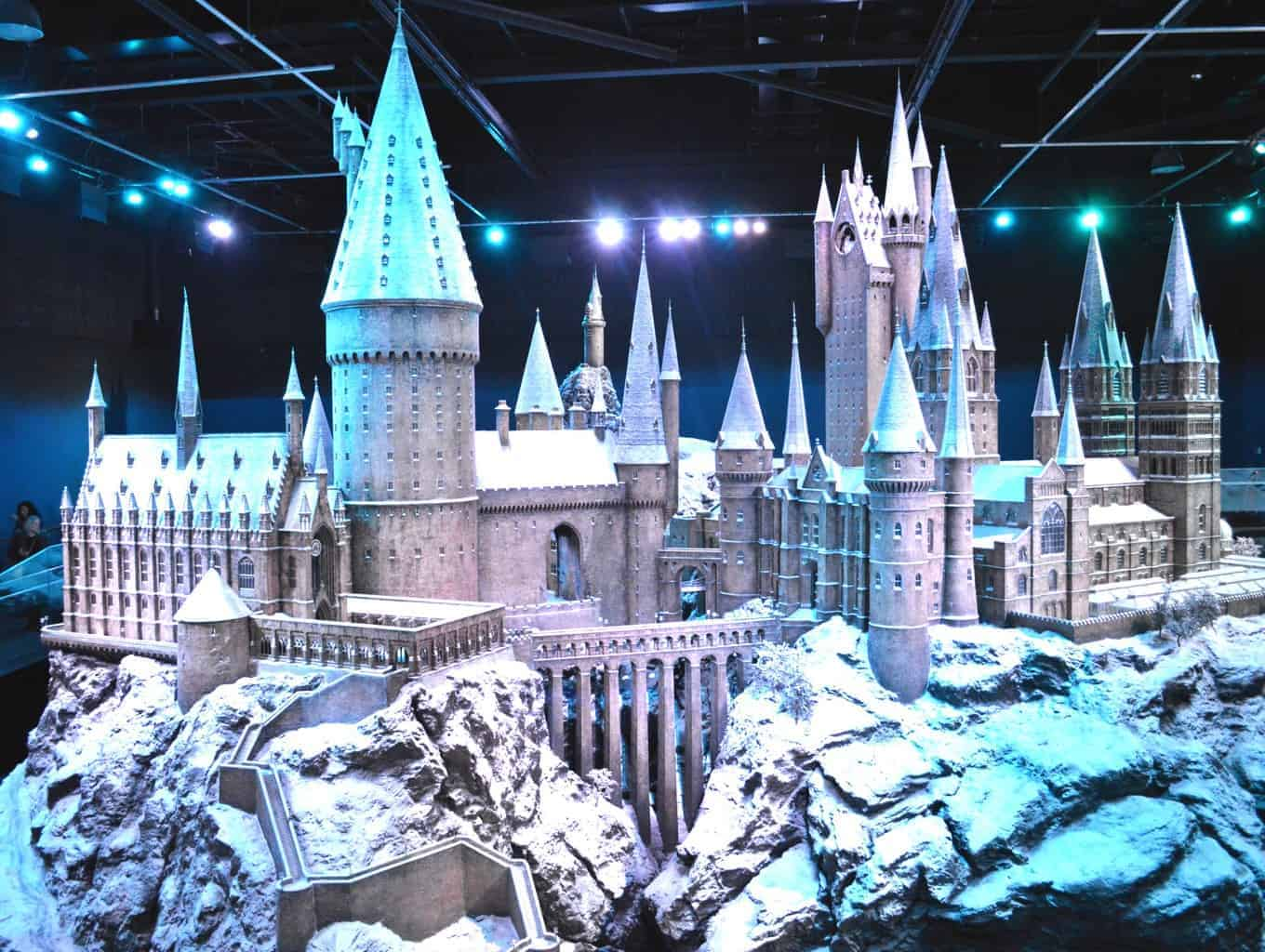 A Postcard From… Hogwarts In The Snow
