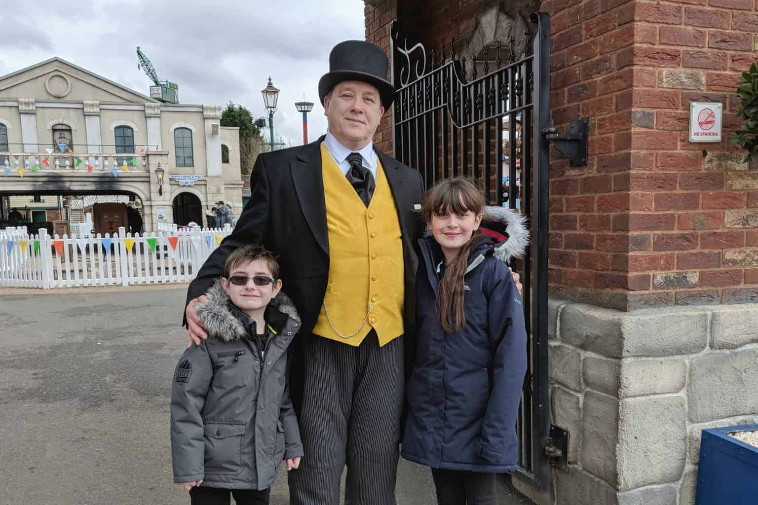 A Postcard From… The Fat Controller at Drayton Manor