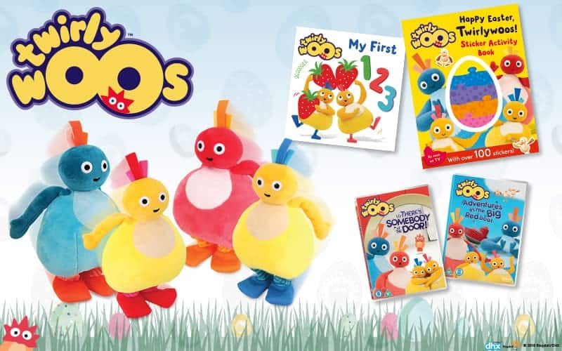 Celebrate Easter with the Twirlywoos + #Giveaway