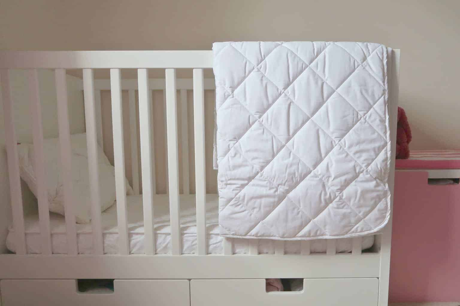 Transition to toddler bed // Bedding