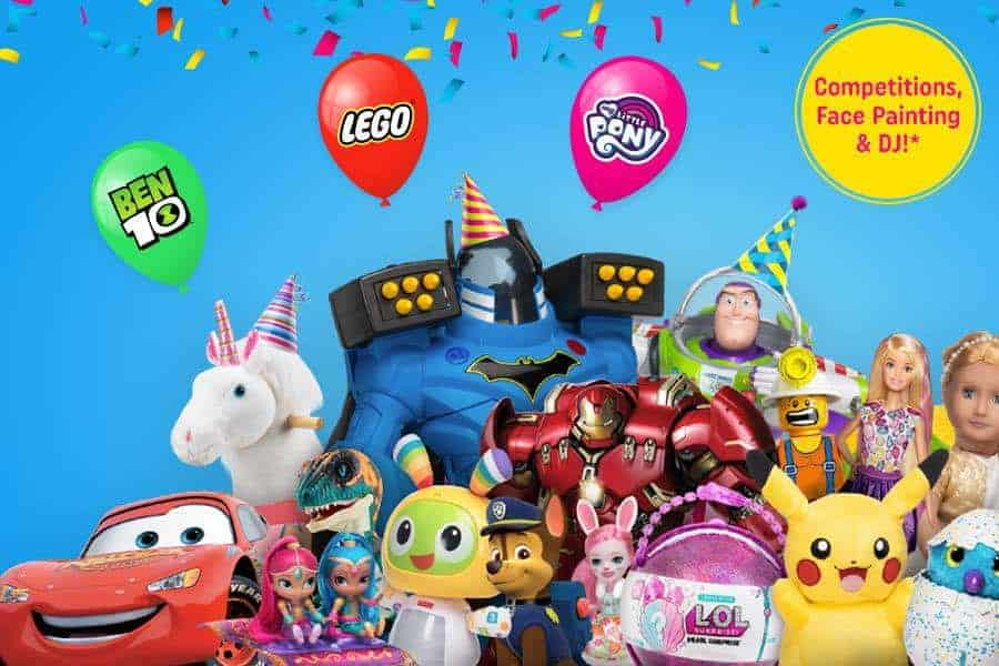 Are you ready for the Smyths Toys Superstores Party Event? – Saturday 26th May 2018