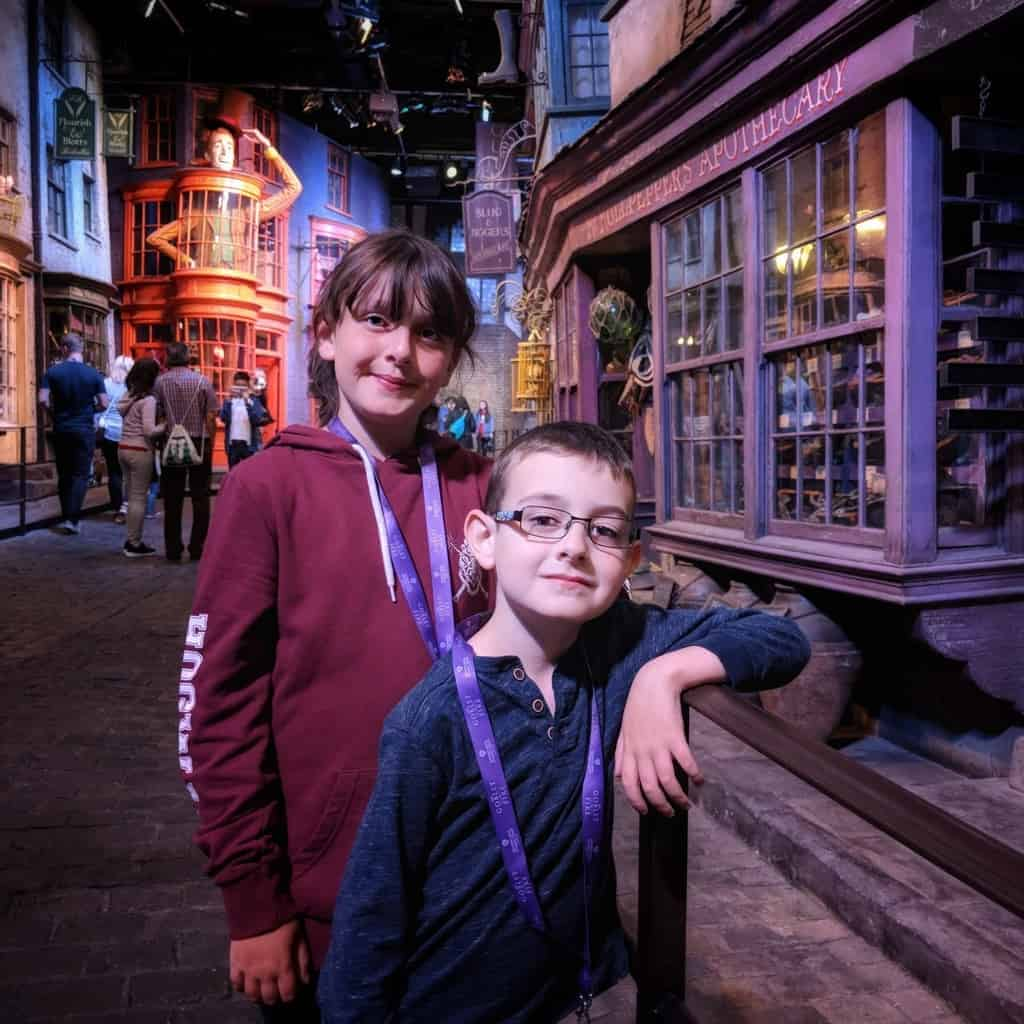 A Postcard From… Warner Bros. Studio Tour London {The Goblet of Fire}