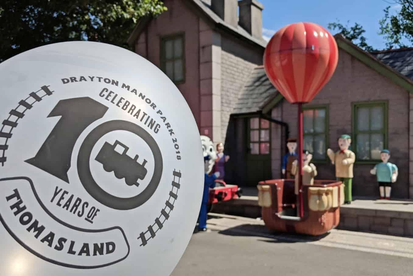 Celebrating 10 years of Thomas Land at Drayton Manor