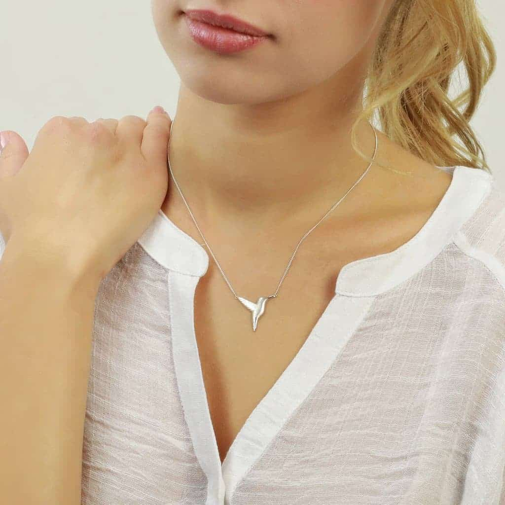 Win a beautiful handmade hummingbird necklace by Jana Reinhardt