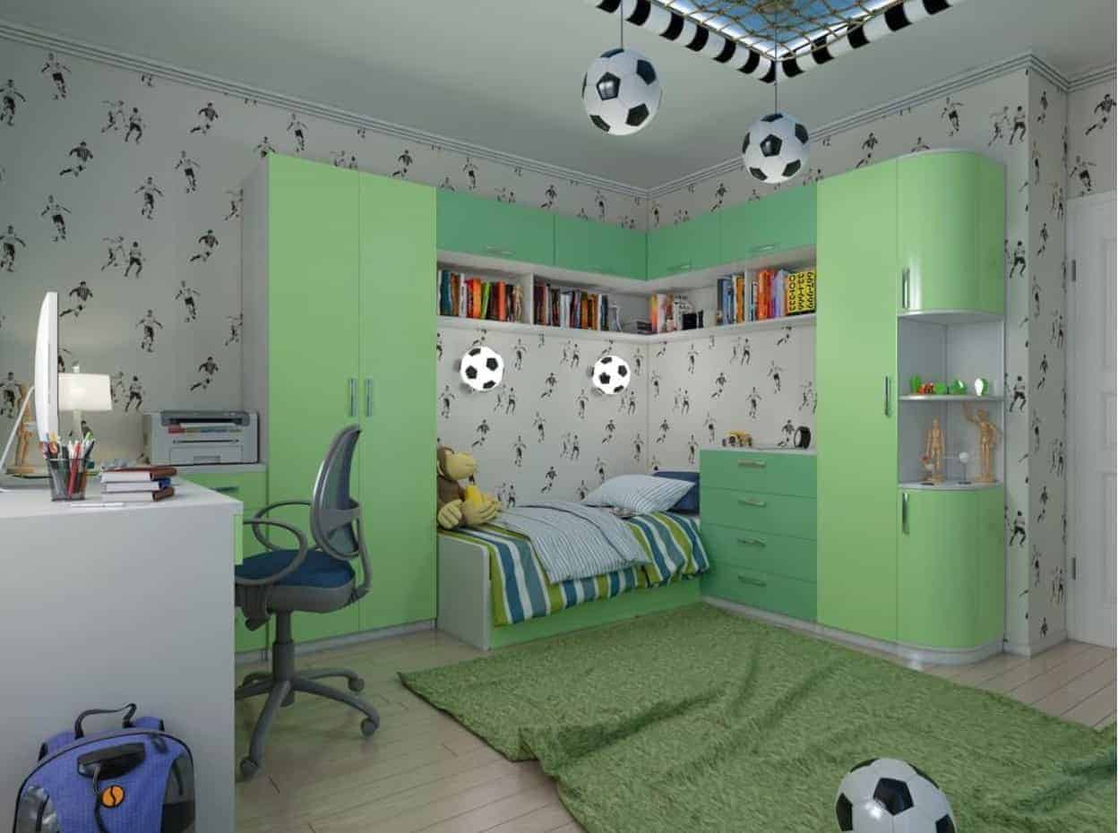 How to Create a Football Themed Bedroom for Kids