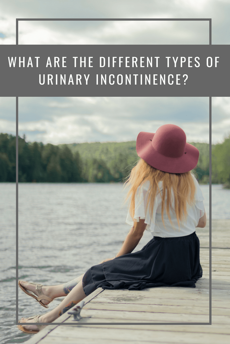 What are the different types of urinary incontinence?
