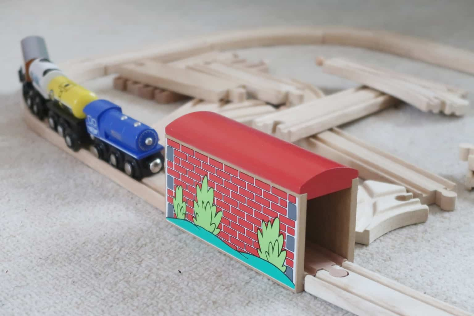 Building bright futures with wooden railways