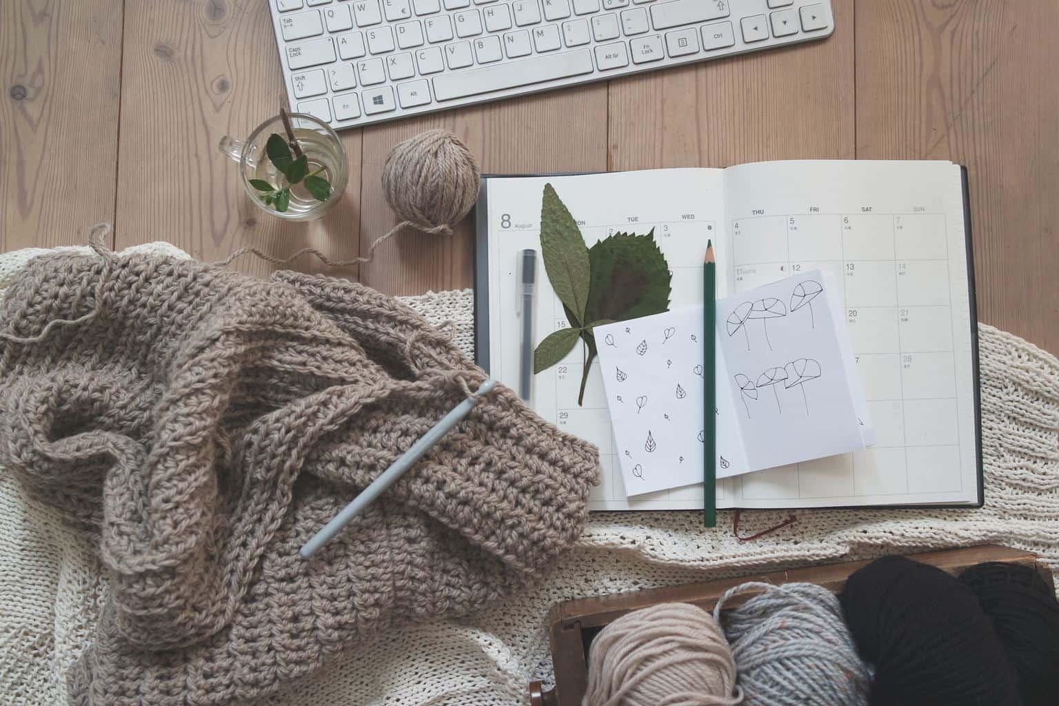 Knitting - the multigenerational hobby