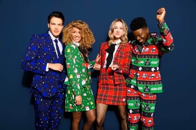 Switch up your Xmas Sweater Game with OppoSuits + #Giveaway