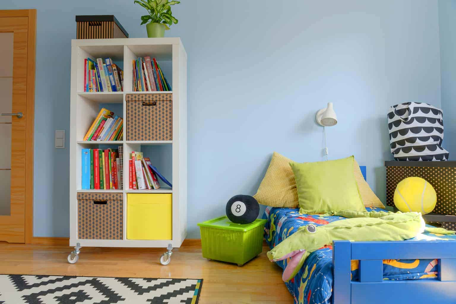Simple Storage – How To Keep Your Children's Room Tidy