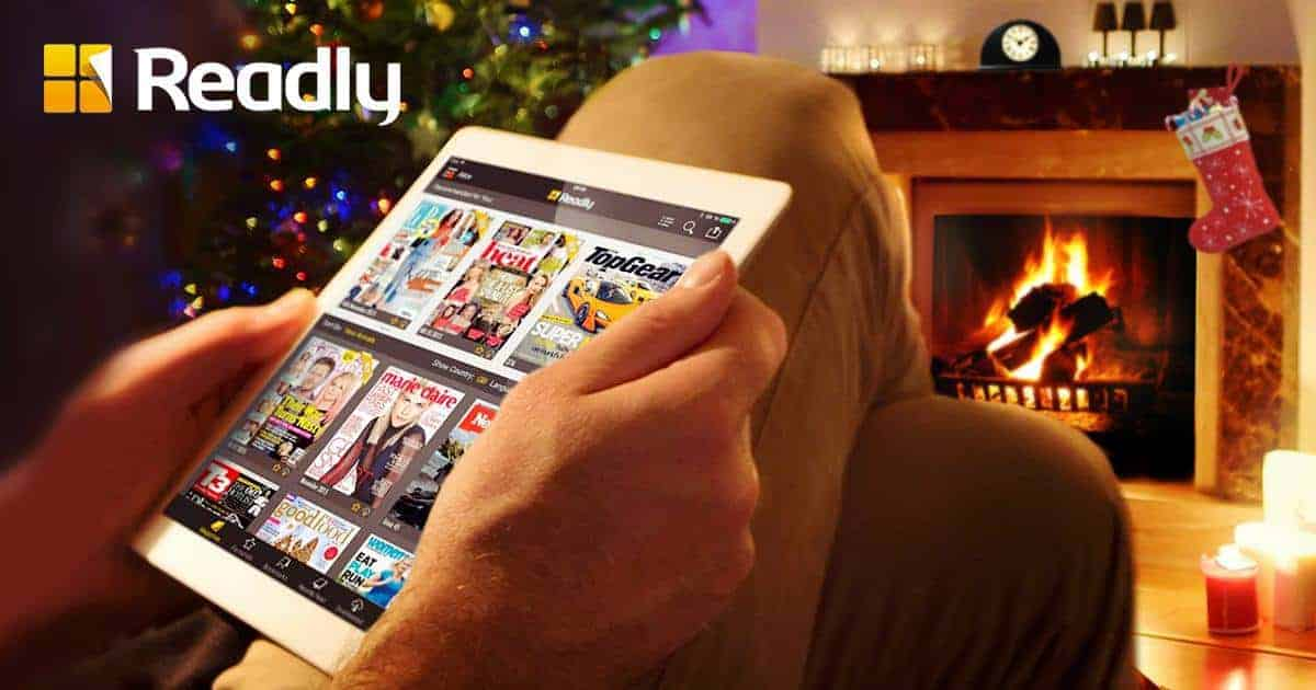 Time to add reading on your Christmas list with Readly