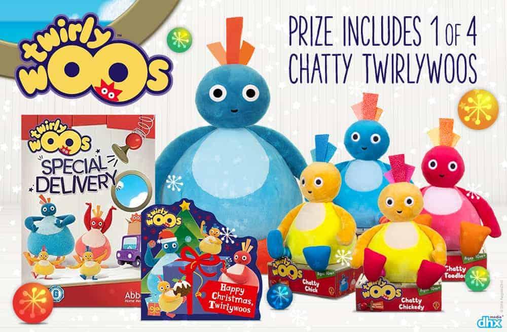 Win a Festive Twirlywoos Prize Bundle!