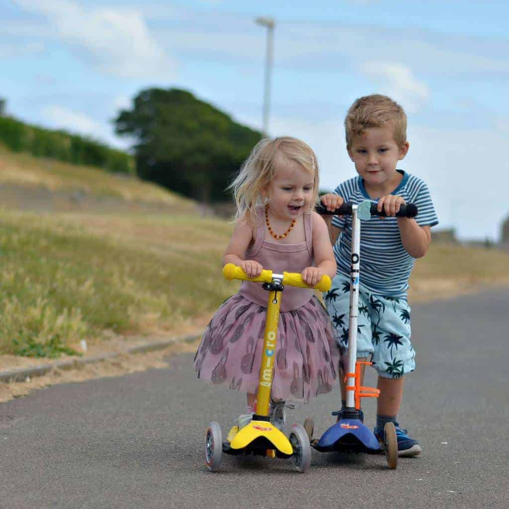 Buying a Child's First Scooter