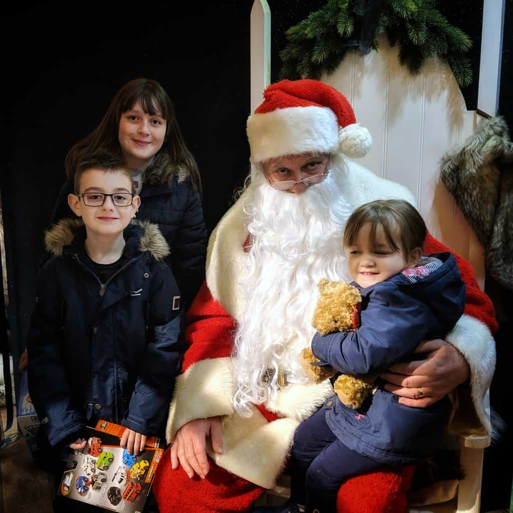A Postcard From… Jarrolds Father Christmas