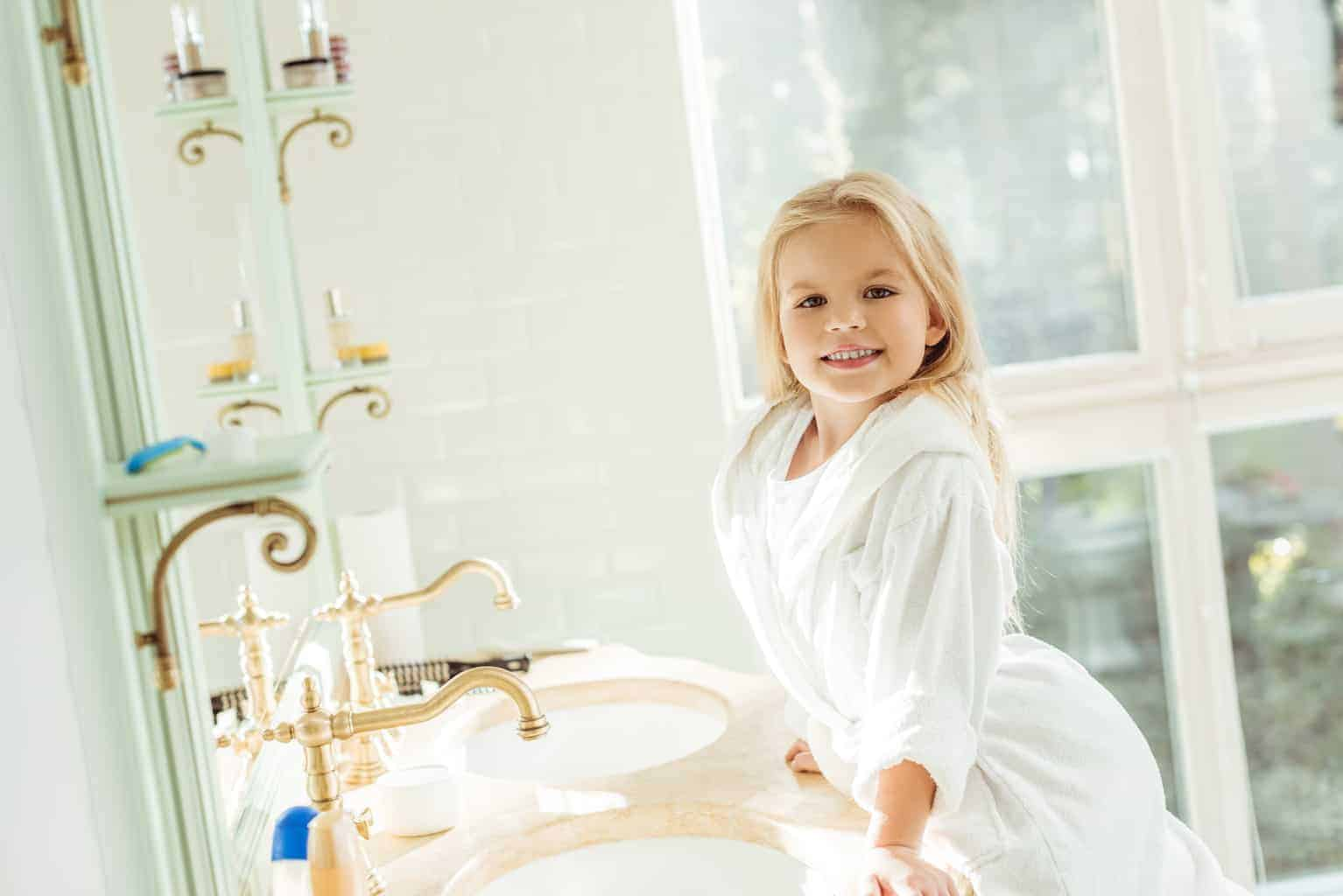 How to style your family bathroom without draining your budget
