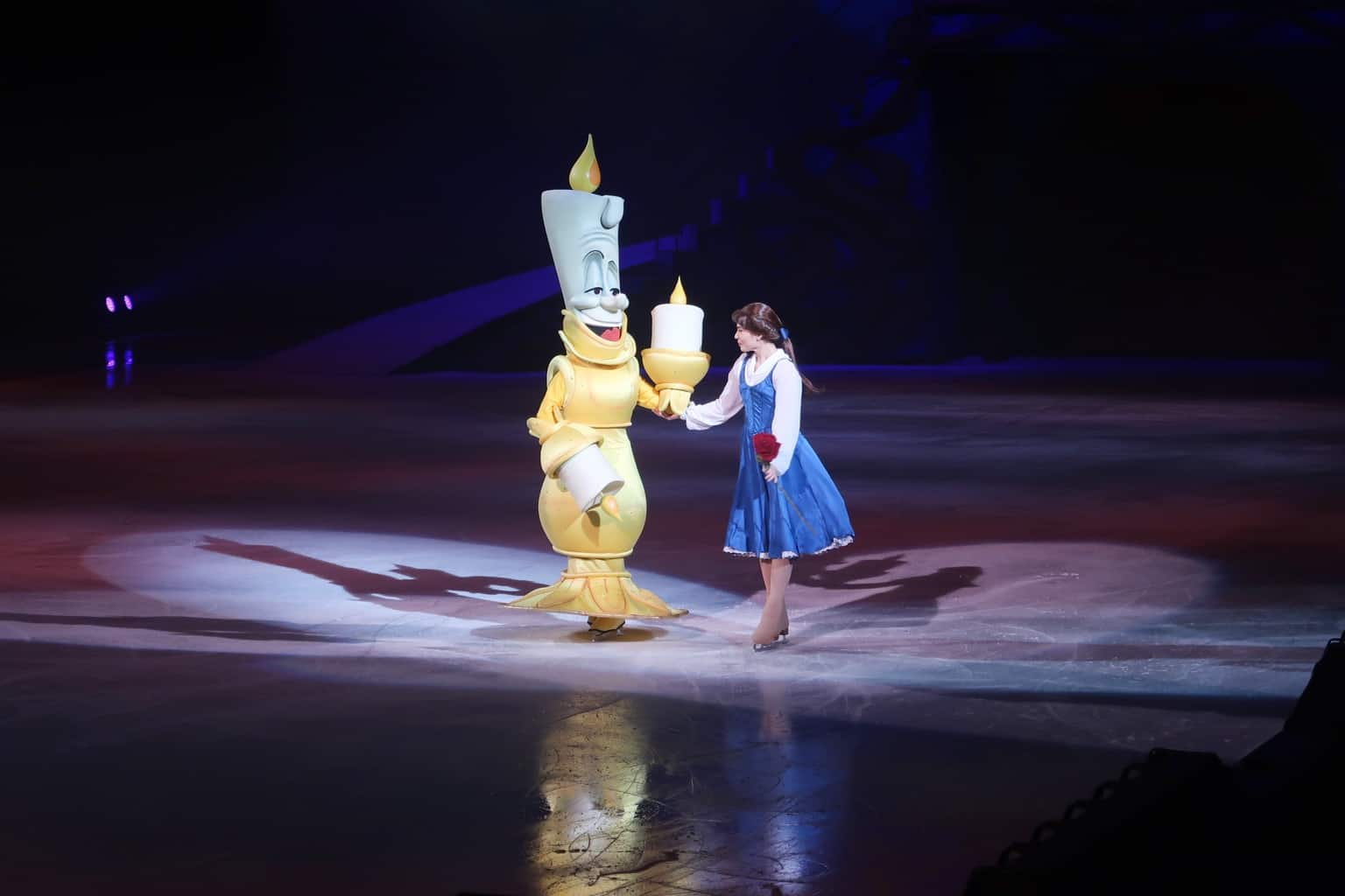 A Postcard From… Disney On Ice {Beauty and the Beast}