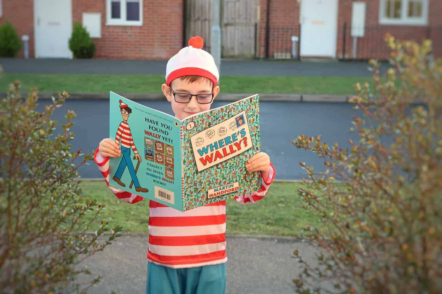 Celebrating World Book Day as Where's Wally? [AD-GIFTED]