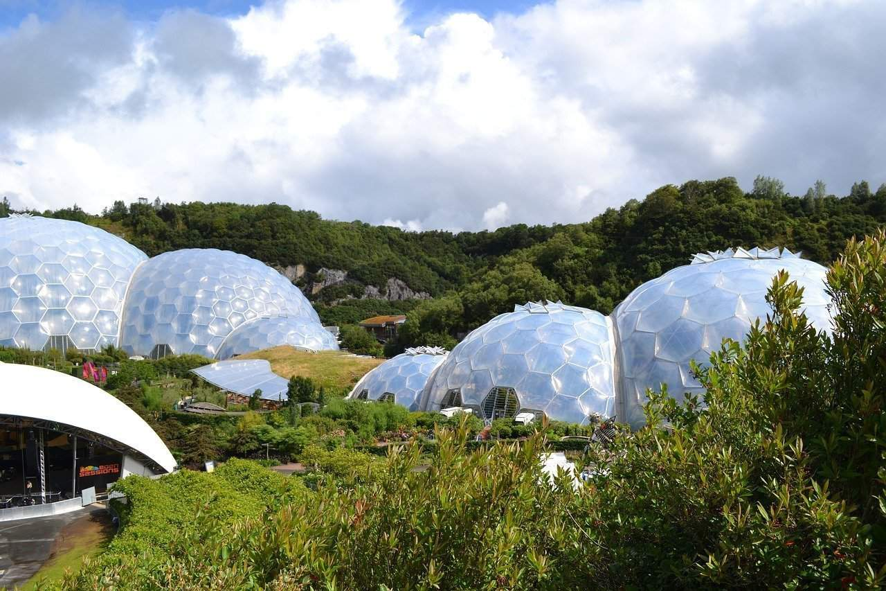 Museums in the South of England: The Eden Project, Cornwall
