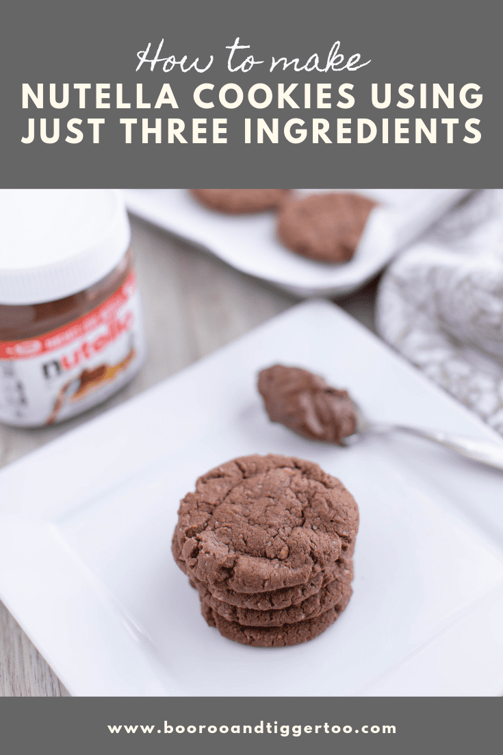 How to make Nutella Cookies using three ingredients | Boo