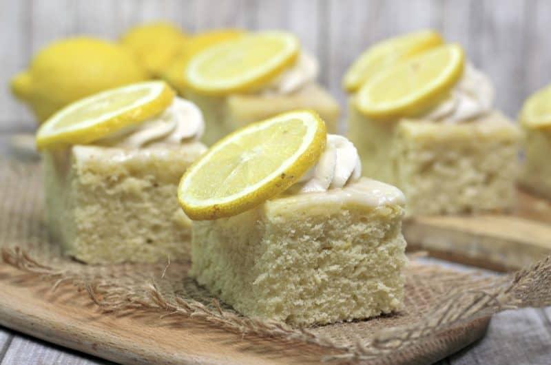 Sansa Lemon Cake recipe