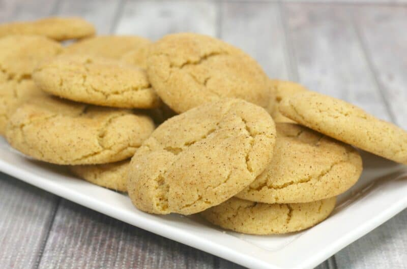 Peanut Butter Snickerdoodles Recipe