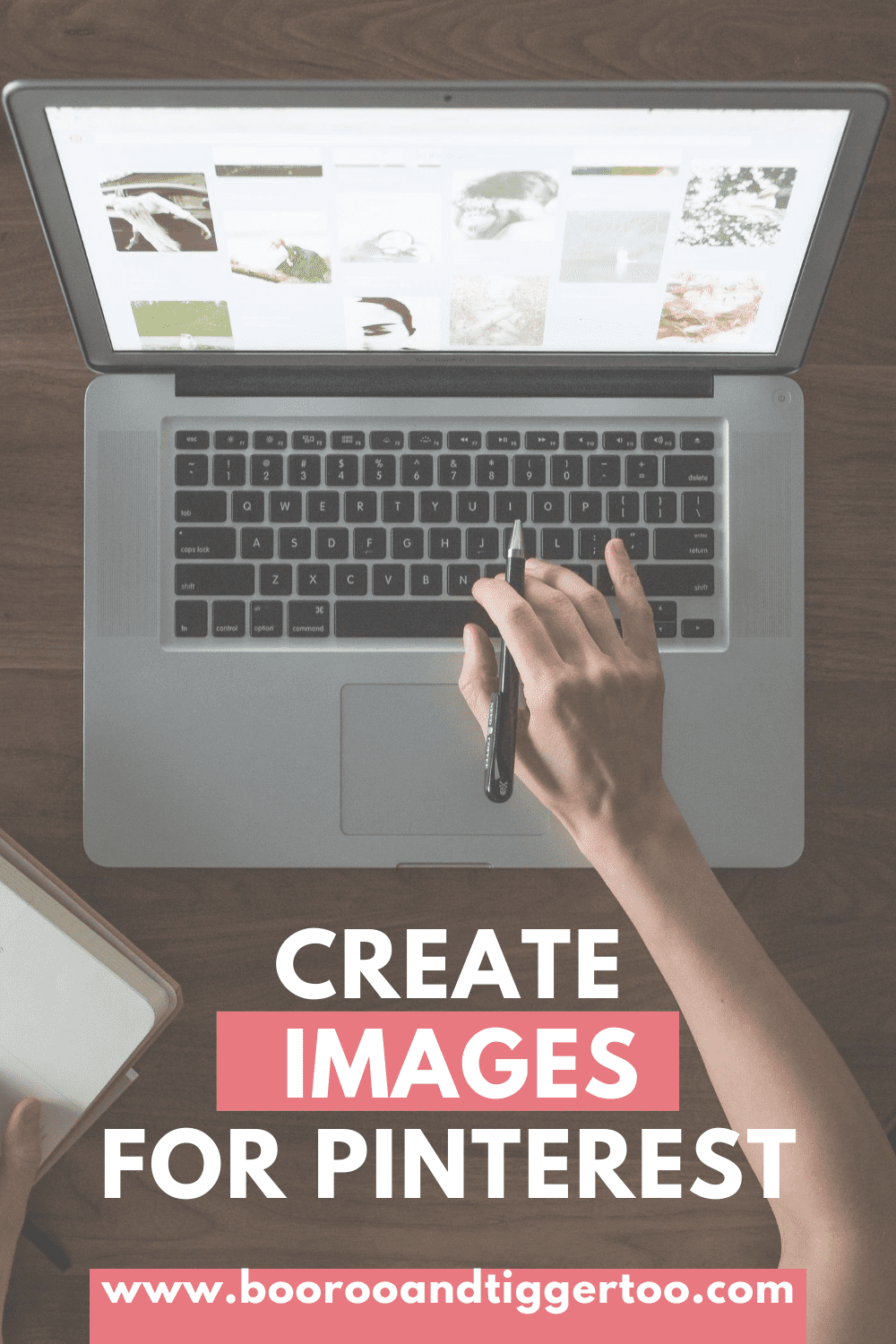 Create images for Pinterest
