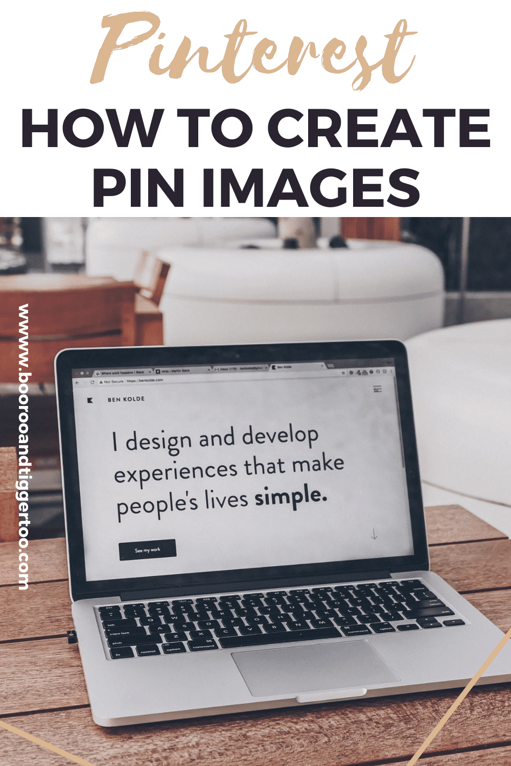 Pinterest - How to create pin images