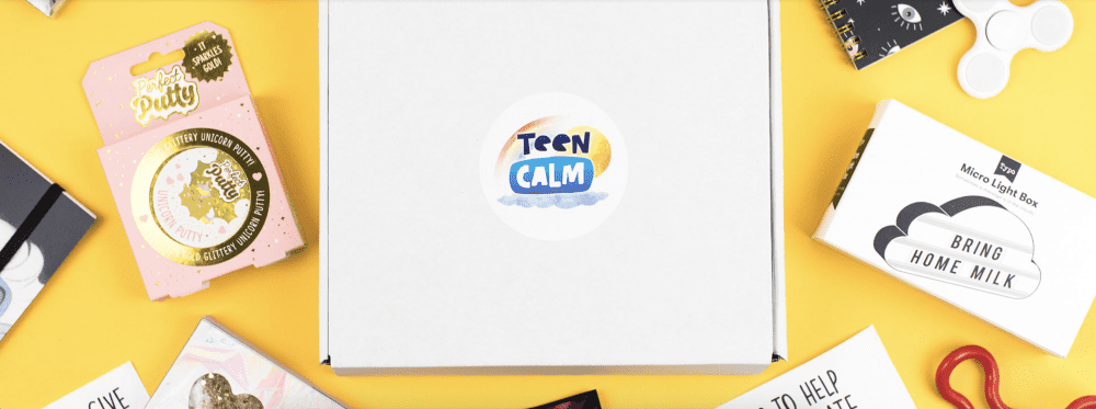 teen calm subscription box with products